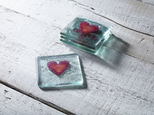Photo of Classic Klaar Red Heart Coaster