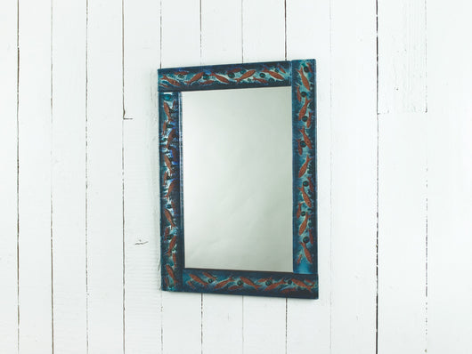 10th Anniversary Cornish Pilchards Panel Mirror