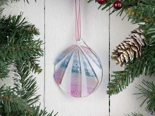 Image of Nordic Lights Bauble - Heather