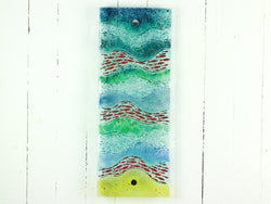 ARTISAN SWIMMING FISH WALL PANEL - 3