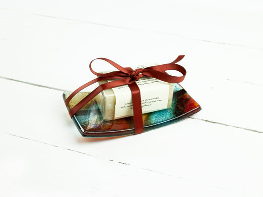 INDIAN SUMMER SOAP DISH GIFT SET