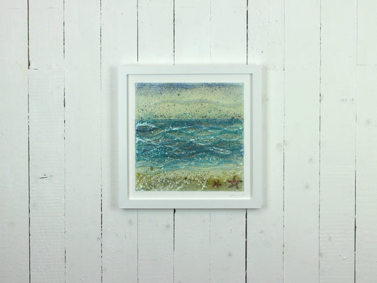 Large Artisan Coastal Art Frame