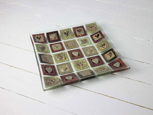 Photo of Morwenna Heart Large Square Dish
