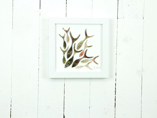 SHOALING FISH MEDIUM ART FRAME - 2