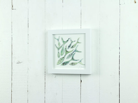 SHOALING FISH MEDIUM ART FRAME - 3