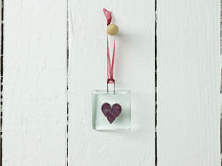 RED HEART MINI HANGING