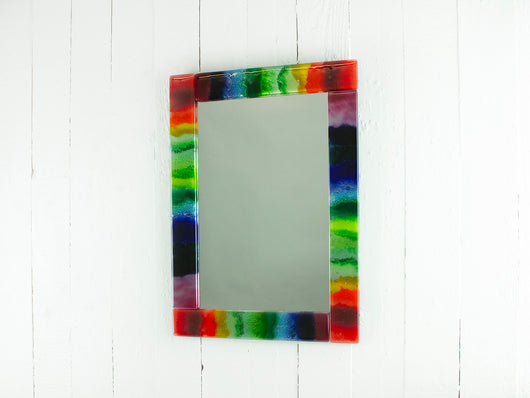 Rainbow Coastal Mirror