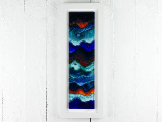 RECTANGULAR ARTISAN OCEAN WAVE ART FRAME