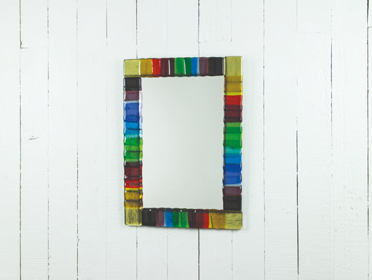 Rainbow Oblong Mirror