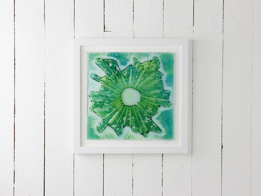Large Jellyfish Art Frame