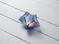 Small Sunset Blue Vase