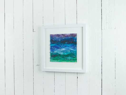 Seascape Dusk Large Art Frame