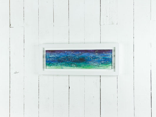 Seascape Dusk Rectangular Art Frame