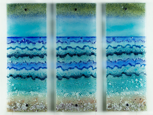 Seashore Small Triptych