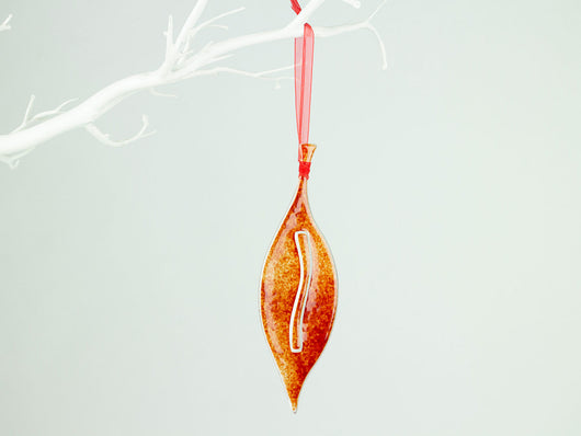 CANDY APPLE HANGING LEAF