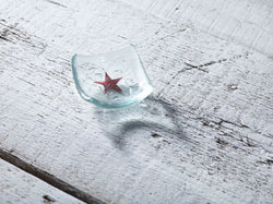 Photo of RED STAR 6cm EARRING DISH