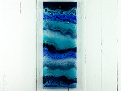 Artisan Blue Wave Wall Panel - A