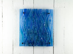 Artisan Textured Blue Wall Panel