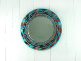 CORNISH PILCHARDS 50CM ROUND MIRROR