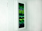 RECTANGULAR ARTISAN EMERALD WAVE ART FRAME