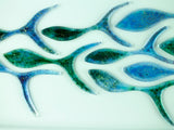 SHOALING FISH RECTANGULAR ART FRAME - 20
