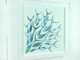 SHOALING FISH LARGE ART FRAME - 4