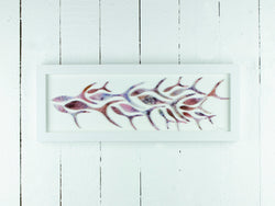 SHOALING FISH RECTANGULAR ART FRAME