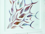 SHOALING FISH LARGE ART FRAME