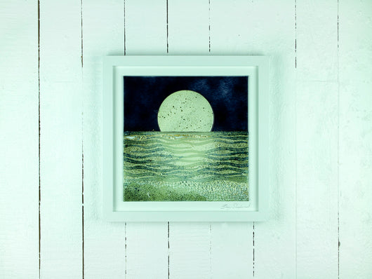 ARTISAN MOONLIGHT LARGE ART FRAME