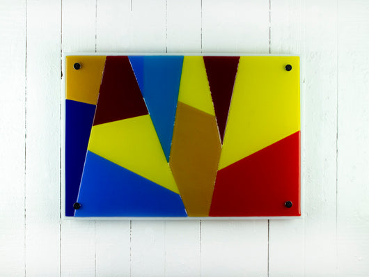 MULTI COLOURED WALL PANEL