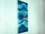 ARTISAN SWIRLING FISH WALL PANEL