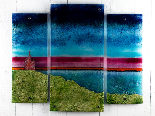 The Tin Mine Staggered Triptych