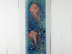 Artisan Twin Jellyfish Intricate Wall Panel