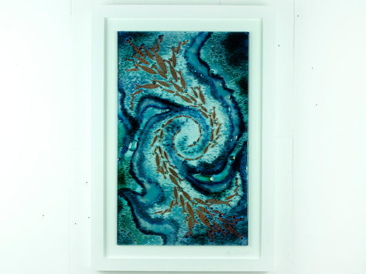 Artisan Large Rectangular Whirlpool Art Frame