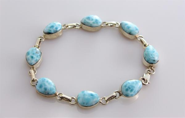 Virgin Islands Larimar bracelet