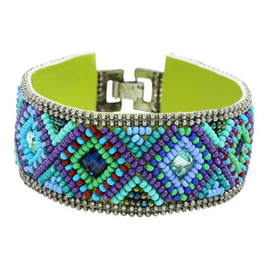 Erik & Mike - Soan Diamond Bracelet in Cool Colors