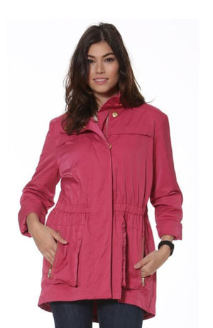 Ciao Milano Tess jacket- dusty rose