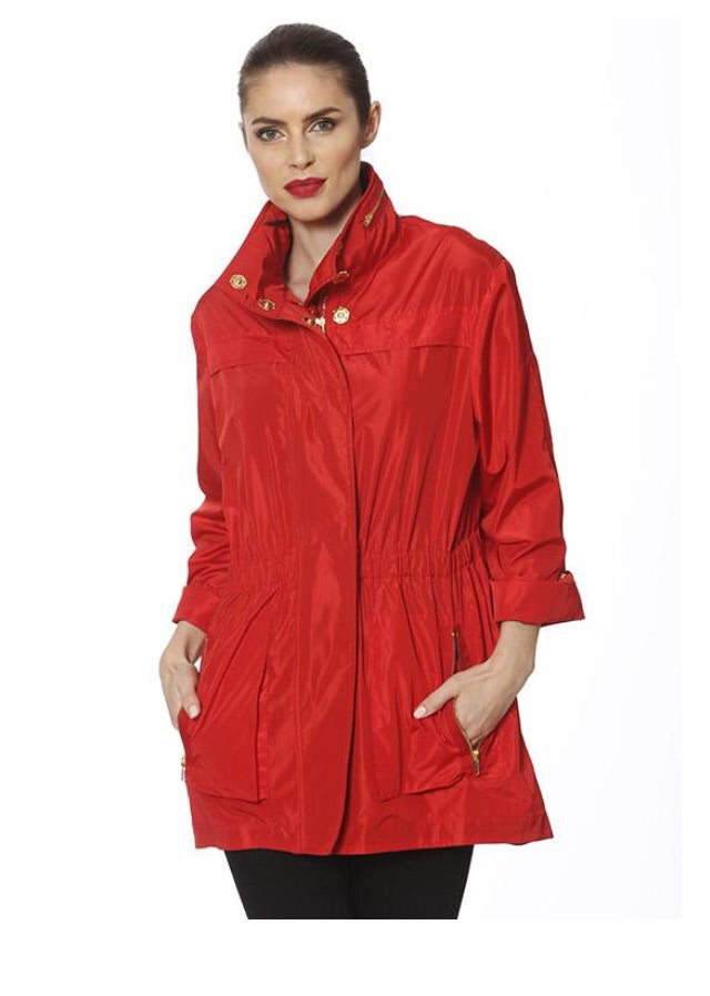 Ciao Milano Tess anorak red