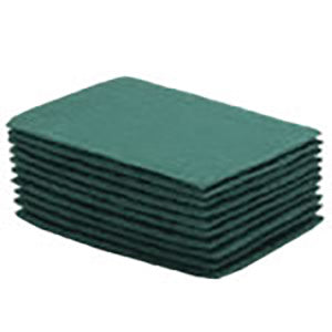 Green Scouring Pad - 10 pk