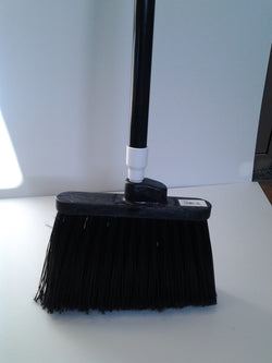 "12"" Duo-Sweep Angled Broom - Flagged"