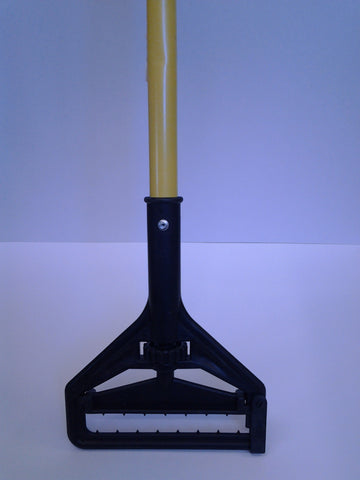 Fiberglass Mop Handle with Poly Thumbwheel Head