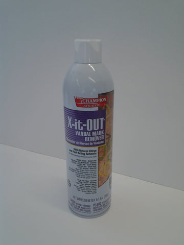 X-It-Out Vandal Mark Remover