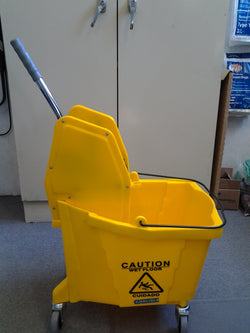 35qt Mop Bucket w/ Down Press Wringer