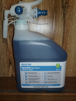 MAXIM SPARKLE Glass Cleaner - Easy Dilution Conatiner