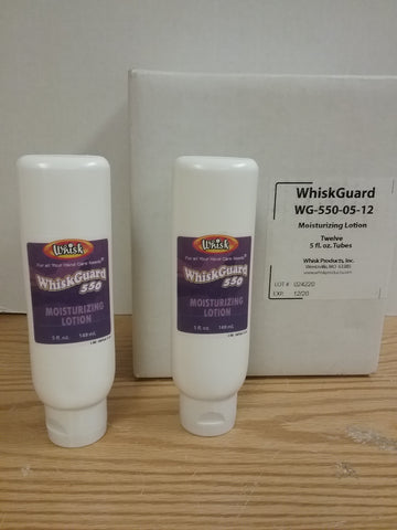 WhiskGuard 550 Moisturizing Lotion - 12 5 oz Tubes