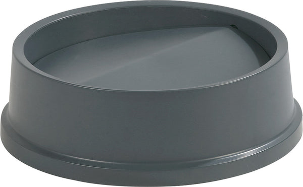 Round Lid for 22 Gal. Centurion Trash Can-Gray