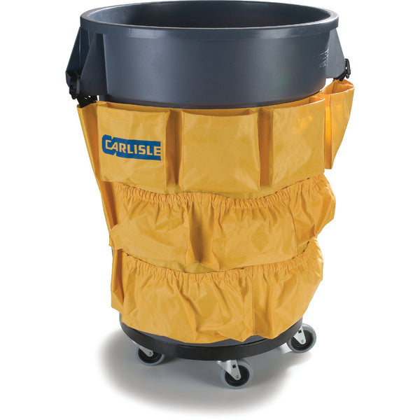 42 gal. Trash Container w/ dolly & Tool Caddy