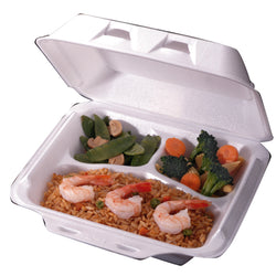 To-Go Container - 3 Compartment