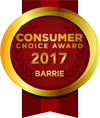 Consumer Choice Award Barrie