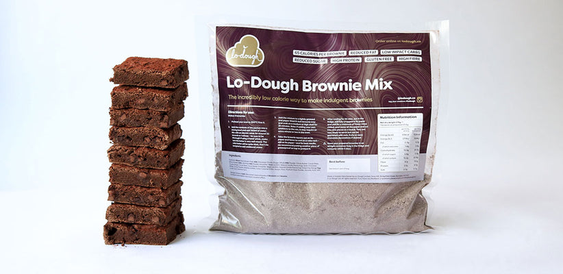 Lo-Dough Brownies - Make Them Your Own